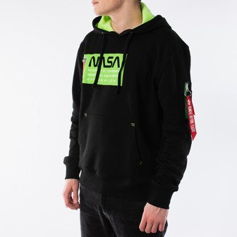 Alpha Industries Mars Neon Hoody 126332 521