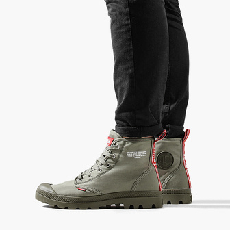 Palladium Hi Dare Olive Night 76258-325-M