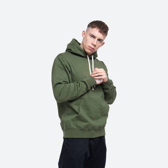 Wood Wood Double A Ian Hoodie 10935600-2424 ARMY GREEN