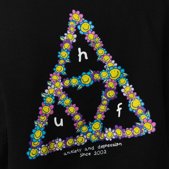 HUF Anxiety and Depression x Japan PF00291 BLK