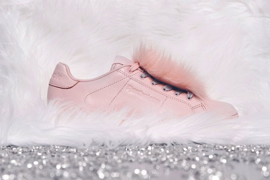 "Buty damskie sneakersy Reebok NPC II NE x Local Heroes ""Polished Pink Sku"" BD4455"