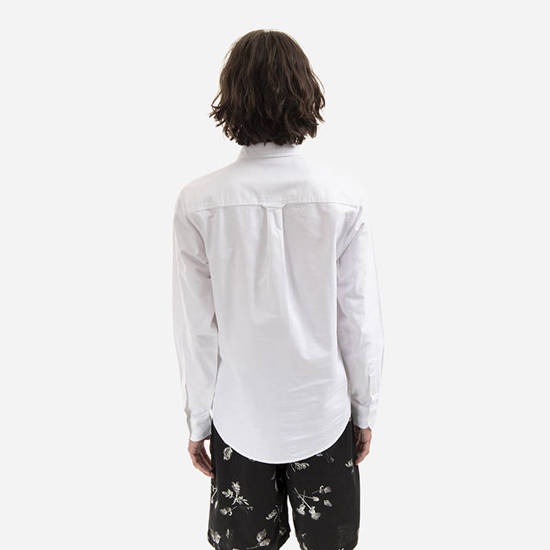 Carhartt WIP Button Down Pocket I022069 WHITE