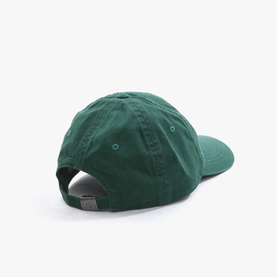 Carhartt WIP Madison Logo Cap I023750 CHROME GREEN/MERLOT