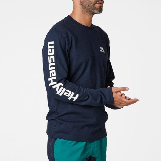Helly Hansen Young Urban 20 Longsleeve Logo T-Shirt 53465 597