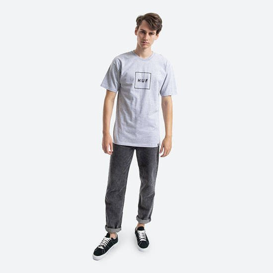 Huf Box Logo TS00507 GREY