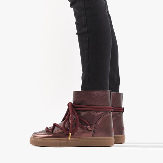 Inuikii Sneaker Leather 70202-59 Bordeaux