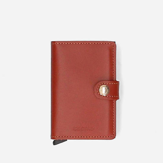 Secrid Miniwallet Original M-Cognac-Brown