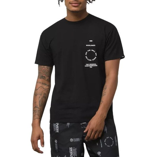 Vans Distortion Type T-shirt VA49PVBLK