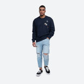 Wood Wood Hugo Sweatshirt 11935615-2136 Navy